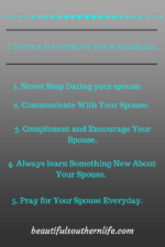 5 Things to Improve Your Marriage Today