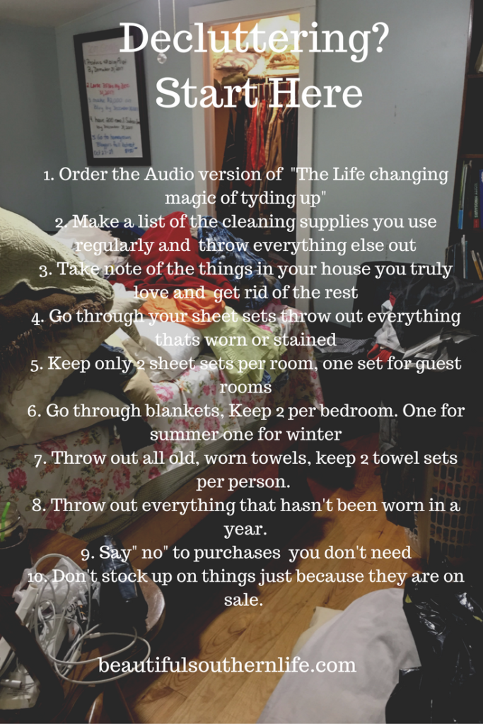 decluttering, clutter, cleaning