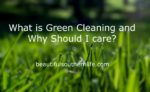 Summer Cleaning Series: What is Green Cleaning and Why Should I care?