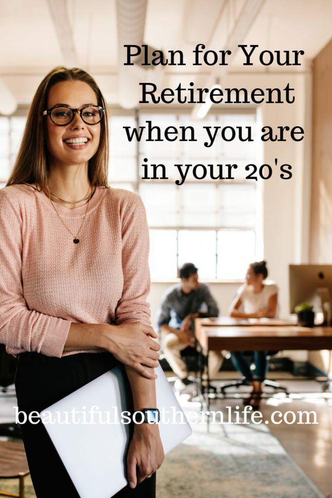 Plan for your retirement in your 20's