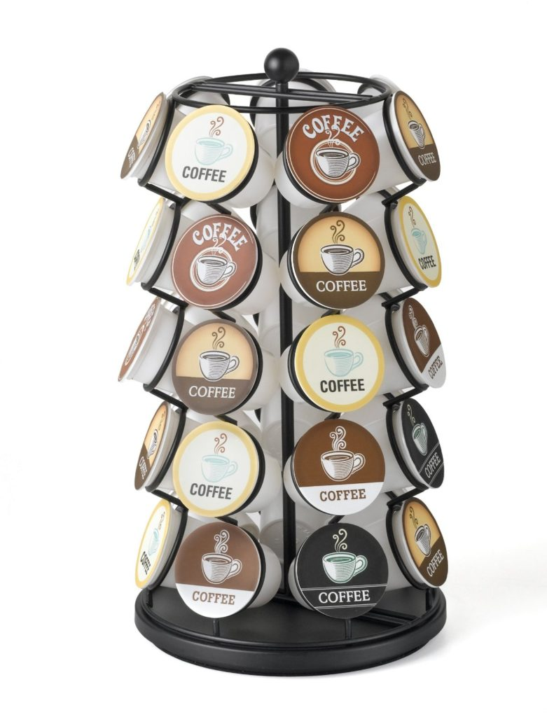 35 Coffee Pod Carousel K- Cup Holder