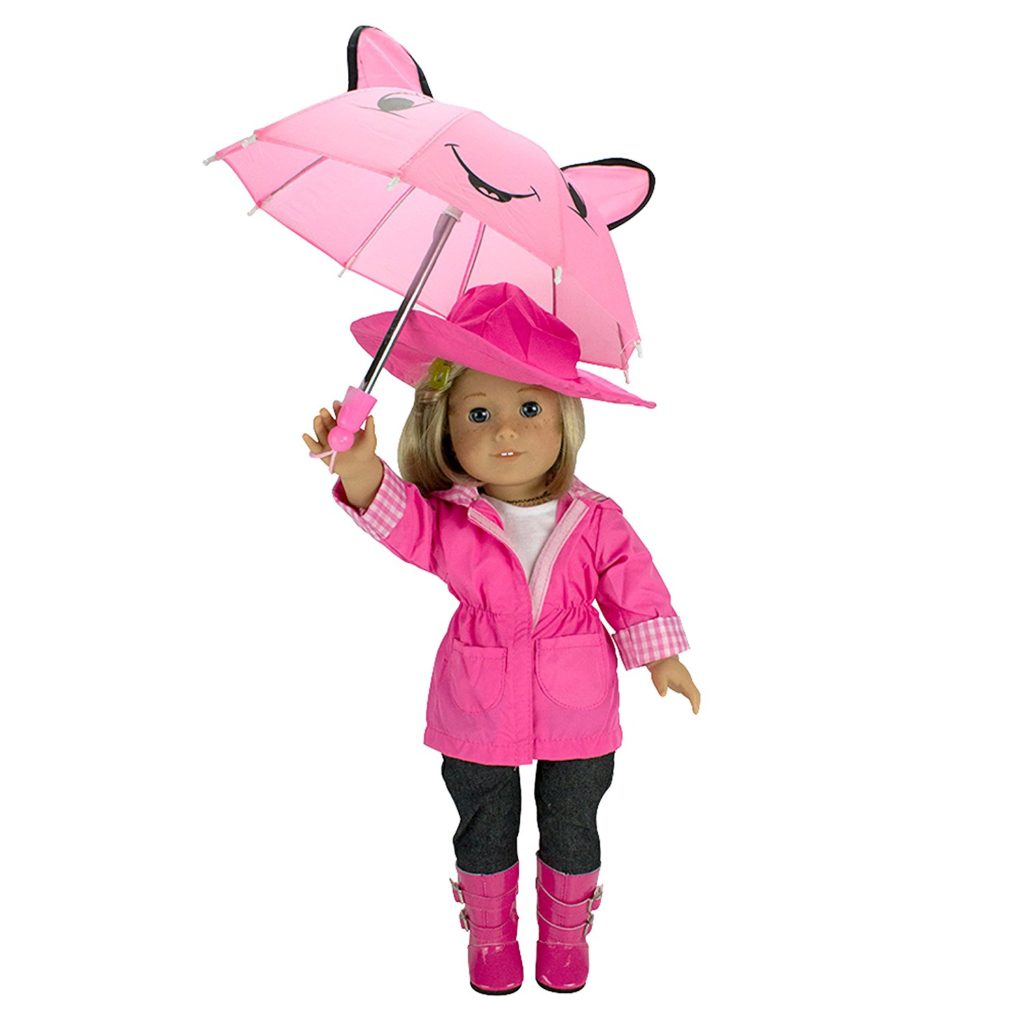 American Girl Doll Rain Coat