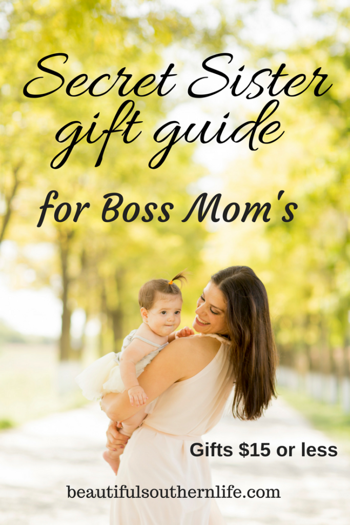 Secret Sister Gift Guide For the Boss Mom