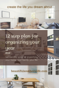 12 Step Plan to Organize Your Life