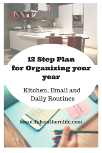 Plans for organizing your home
