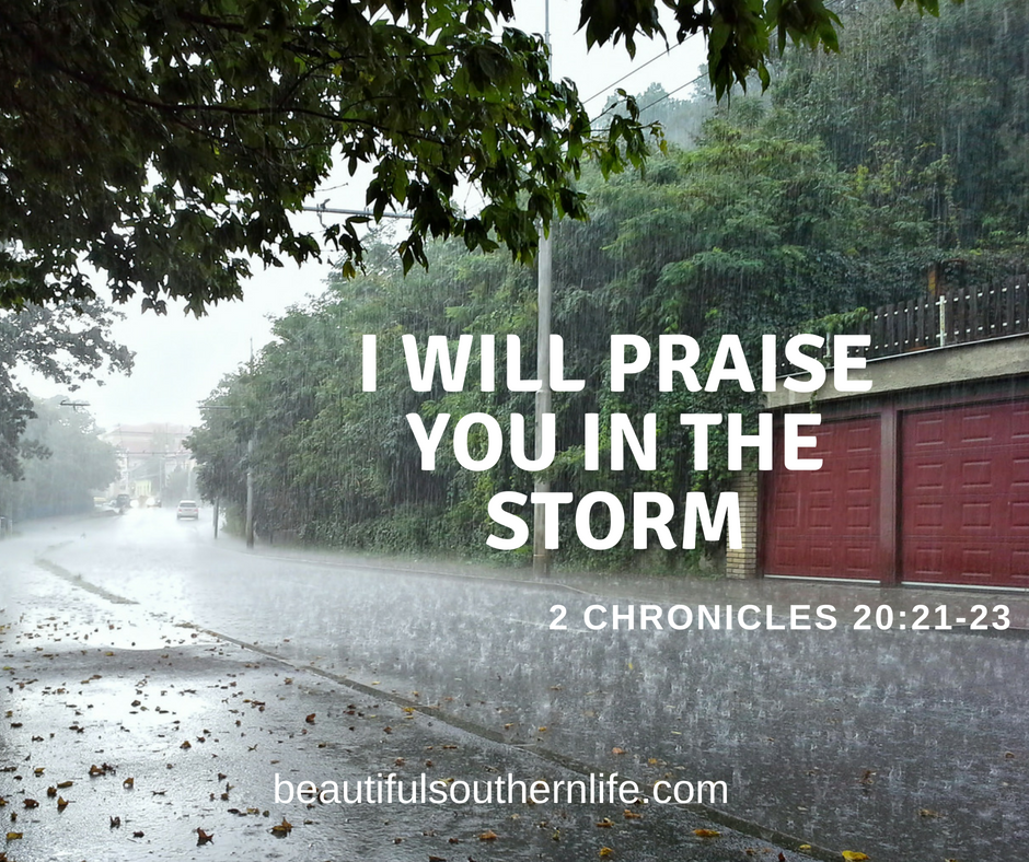 Praise God in the Storm